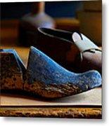 Shaker Shoe Last Metal Print