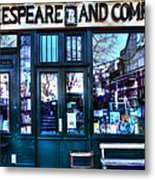 Shakespeare And Company Paris France Metal Print