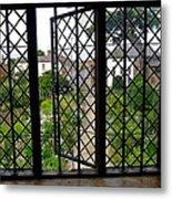 View Through Shakespeare's Window Metal Print