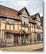 Shakespeare's Birthplace Metal Print