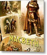 Shakespeare's Macbeth 1884 Metal Print