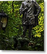 Shakespeare In Central Park Metal Print