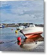 Shaldon-teignmouth Harbour 3 Metal Print