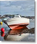 Shaldon-teignmouth Harbour Metal Print