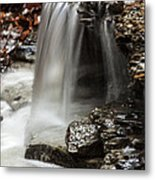 Shale Creek Waterfall Metal Print