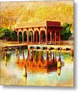 Shalimar Gardens Metal Print by Catf