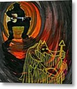 Shaman Blues Metal Print