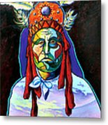 Shamans Power Metal Print