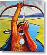 Shamans Prayer Metal Print