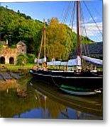 Shamrock Barge Metal Print