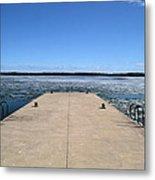 Shanty Bay Pier 2  Metal Print