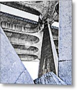 Shapes And Forms Metal Print