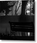 Shapes In The Park  Metal Print