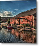 Shardlow Wharf Metal Print