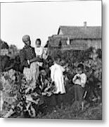 Sharecropper Family, 1902 Metal Print