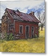 Sharecroppers Shack Metal Print