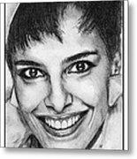 Shari Belafonte In 1985 Metal Print