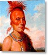 Sharitarish. Wicked Chief. Pawnee Metal Print