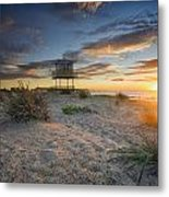 Shark Tower 1 Metal Print
