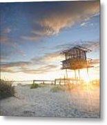 Shark Tower 2 Metal Print by Steve Caldwell