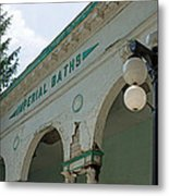 Sharon Springs Imperial Bath 2 Metal Print