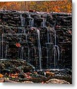 Sharon Woods Waterfall Metal Print
