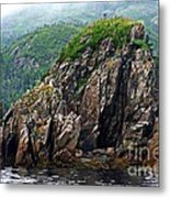 Sharp Jagged Rocks  Metal Print