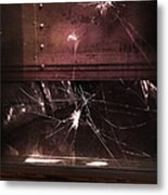 Shattered Window Metal Print