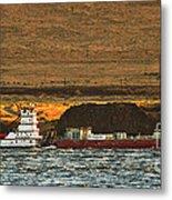 Shaver Tug On The Columbia River Metal Print