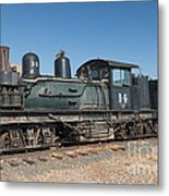 Shay Engine 14 In The Colorado Railroad Museum Metal Print