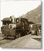 Shay No. 498 At The Summit Of Mt. Tamalpais Marin Co California Circa 1902 Metal Print