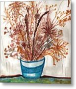 Shaylynne And Vaughn's Bouquet Metal Print