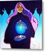 She Carries The Spirit Metal Print