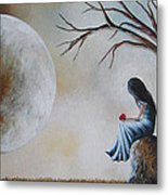 She Misses You By Shawna Erback Metal Print by Shawna Erback