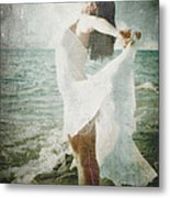 She Was Made Of The Sea Metal Print