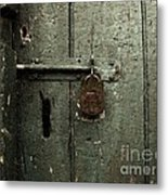 Shed Of Secrets Metal Print