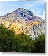 Sheep Mountain Alaska   Metal Print by Chris Heitstuman