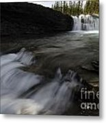 Sheep River Falls Alberta Canada 1 Metal Print