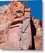 Sheer Canyon Walls Metal Print