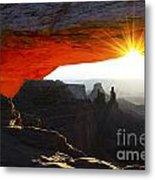 Sheer Magic Mesa Arch Utah Metal Print