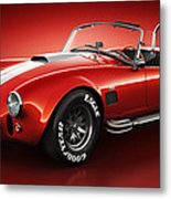Shelby Cobra 427 - Bloodshot Metal Print