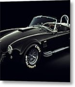 Shelby Cobra 427 - Ghost Metal Print by Marc Orphanos