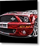 Shelby On Fire Metal Print