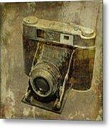Shelf Camera Metal Print