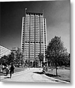 shell centre tower and jubilee gardens southbank London England UK Metal Print