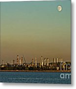 Shell Refinery Metal Print