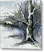 Shelly's Tree Metal Print