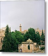 Historic Jerusalem Metal Print