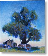 Shelter In My Shadiw Metal Print
