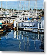 Shelter Island Yachts Metal Print